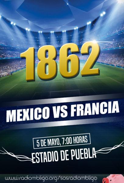 FLYER FRANCIA VS MEXICO