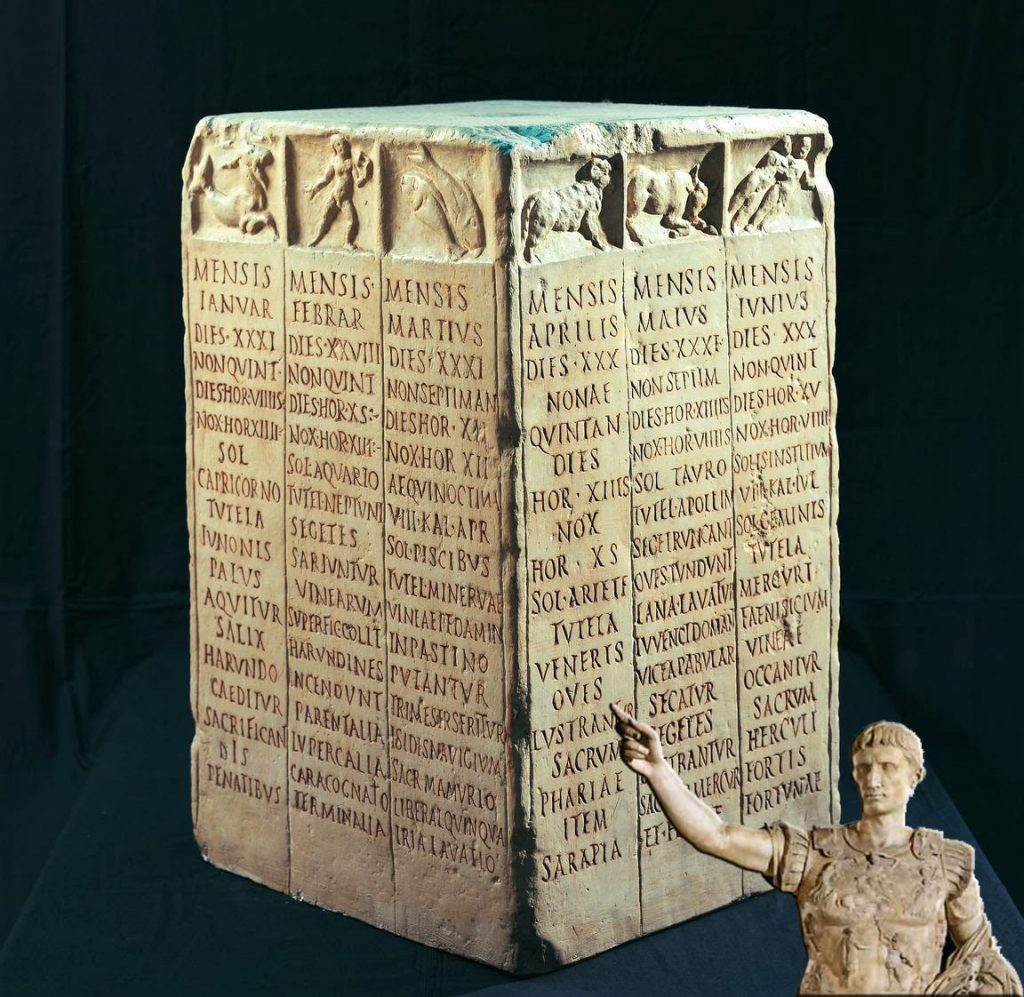 evolucion-calendario-romano